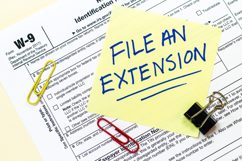 tax extension image